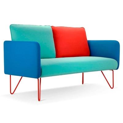 Canapé 2 et 3 places AKINO pour salle d'attente - 152cm et 220 cm