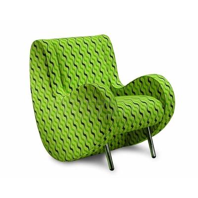 Fauteuil design LEONARDO pour salle d'attente - 75cm