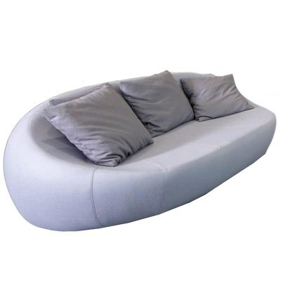Canapé GALET 195cm - tissu ou cuir