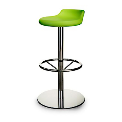 Tabouret de bar polyuréthane tournant WILLIE