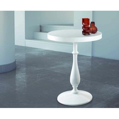 Pied de table en fonte H73cm ROMANTICO noir ou blanc