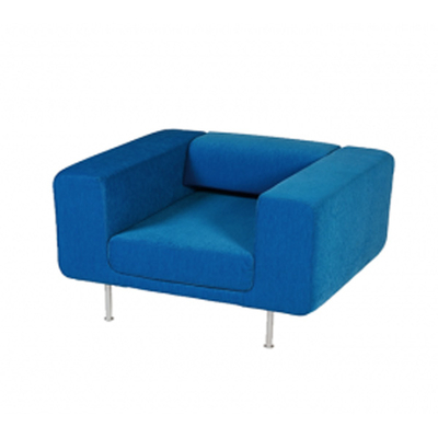 Fauteuil contemporain CONTRACT 100cm