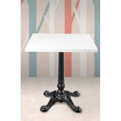 Pied table de bar fonte 4 branches H73cm BISTROT PARIS