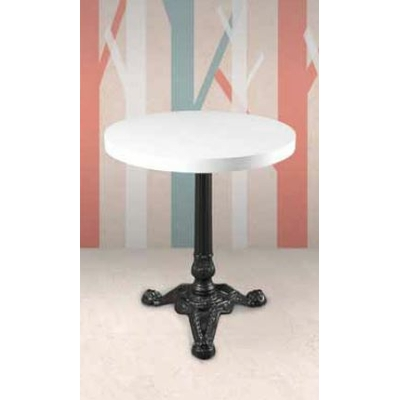 Pied table de bar fonte 3 branches H72cm BISTROT PARIS