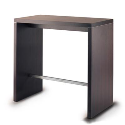 Table haute DALLAS 120x60 cm - épaisseur bois 4 cm