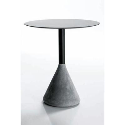 Pied table de bar style industriel BÉTON 72cm