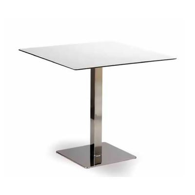 Pied table de bar base carrée COACH 71,5cm