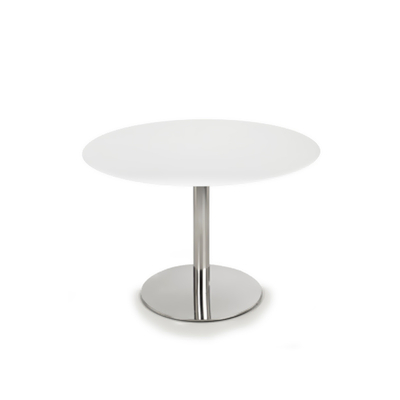 Pied table de bar base ronde D44cm ROMANA H71,5cm