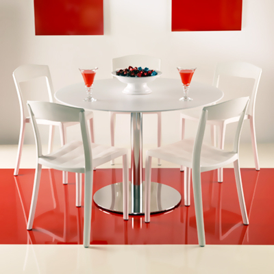 Pied table de restaurant base ronde D60cm ROMANA H71,5cm