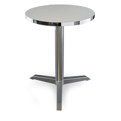 Pied table de bar 3 branches BRASSERIE H72cm