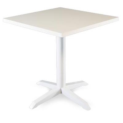 Pied table de bar 4 branches BRASSERIE H72cm