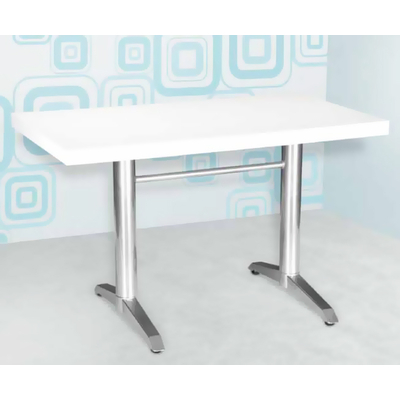 Pied table de restaurant double BRASSERIE H72cm