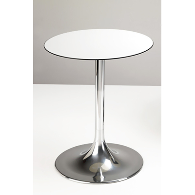 Pied table de bar aluminium BUDDHY H72,5cm