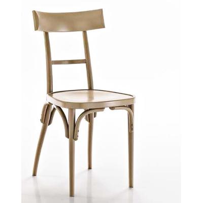 Chaise en hêtre teinté ou laqué VEGAS - lot de 2 chaises pour restaurant