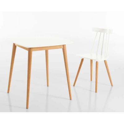 Table de style design-scandinave en bois MONACO