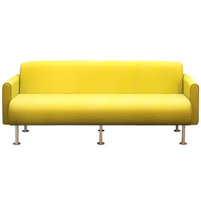 Banquette ou canapé BIMBO 2 ou 3 places avec ou sans accoudoirs salle d'attente ou pour hôtel