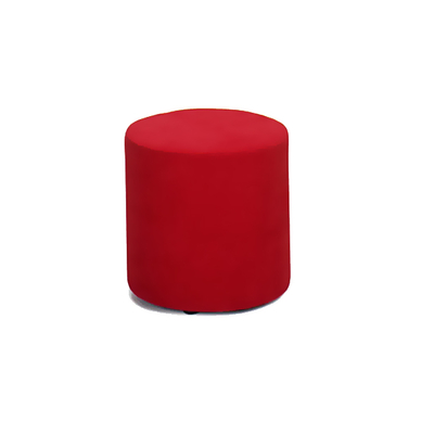 Pouf rond tapissé Pop Art BOUNTY - lot de 2 poufs