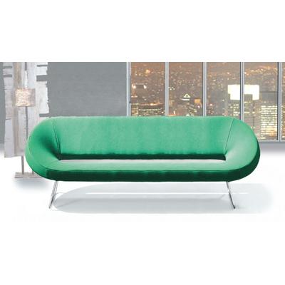 Banquette SISSI 200cm avec fauteuil assorti pour salle d'attente ou hôtel & spa
