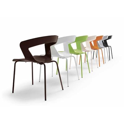 Fauteuil de restaurant Z en technopolymère - lot de 4 fauteuils
