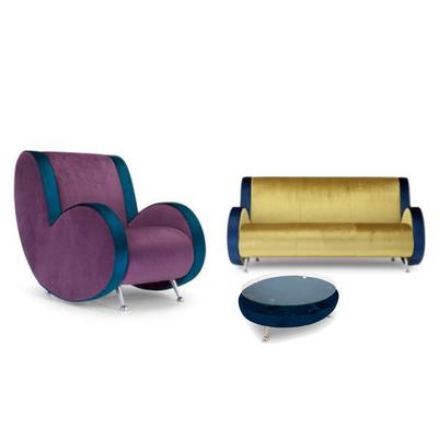 Canapé design LEONARDO pour salle d'attente