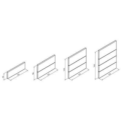 Panneaux pour Banquette des modules REX et SAMY