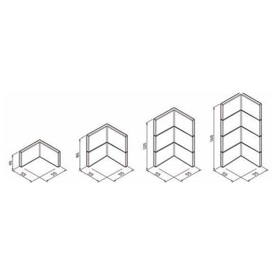 Panneaux pour Fauteuil d'angle des modules REX et SAMY