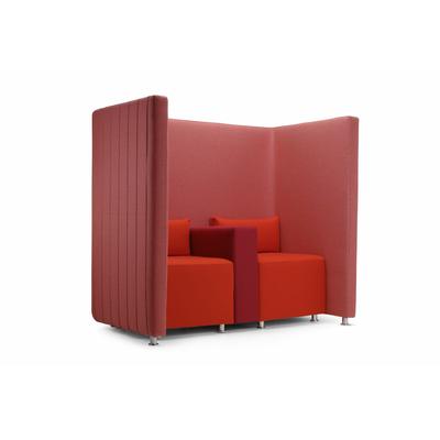 Espace double avec fauteuils CONFIDENT1 - 160cm pour hôtel & spa