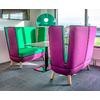 Canapé 2 PLACES COUTURE pour salle dattente - 139cm
