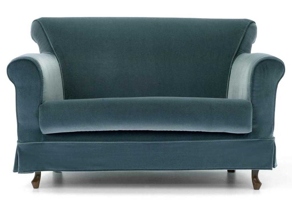 Canapé 2 places FRANKLIN pour espaces dattente - 131cm