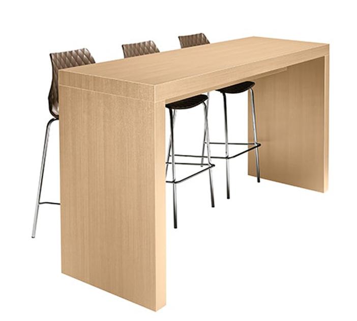 Table haute mange-debout KENT pour bars et restaurant