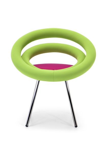 Chaise Rembourree DOUGHNUTS Pieds Style Pop Art