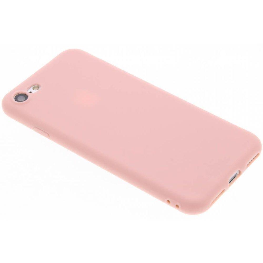 Coque Silicone Pour iPhone 7 / 8 / SE2020 Couleur Rose Haute Protection Little Boutik®