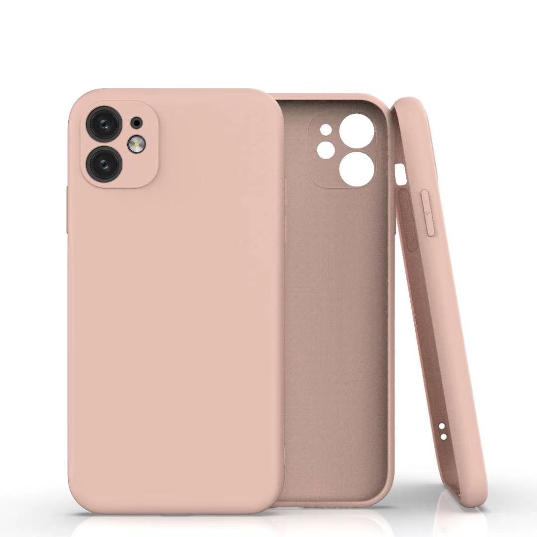 Coque Silicone Pour iPhone 11 Couleur Rose Protection Objectif Appareil Photo Little Boutik®