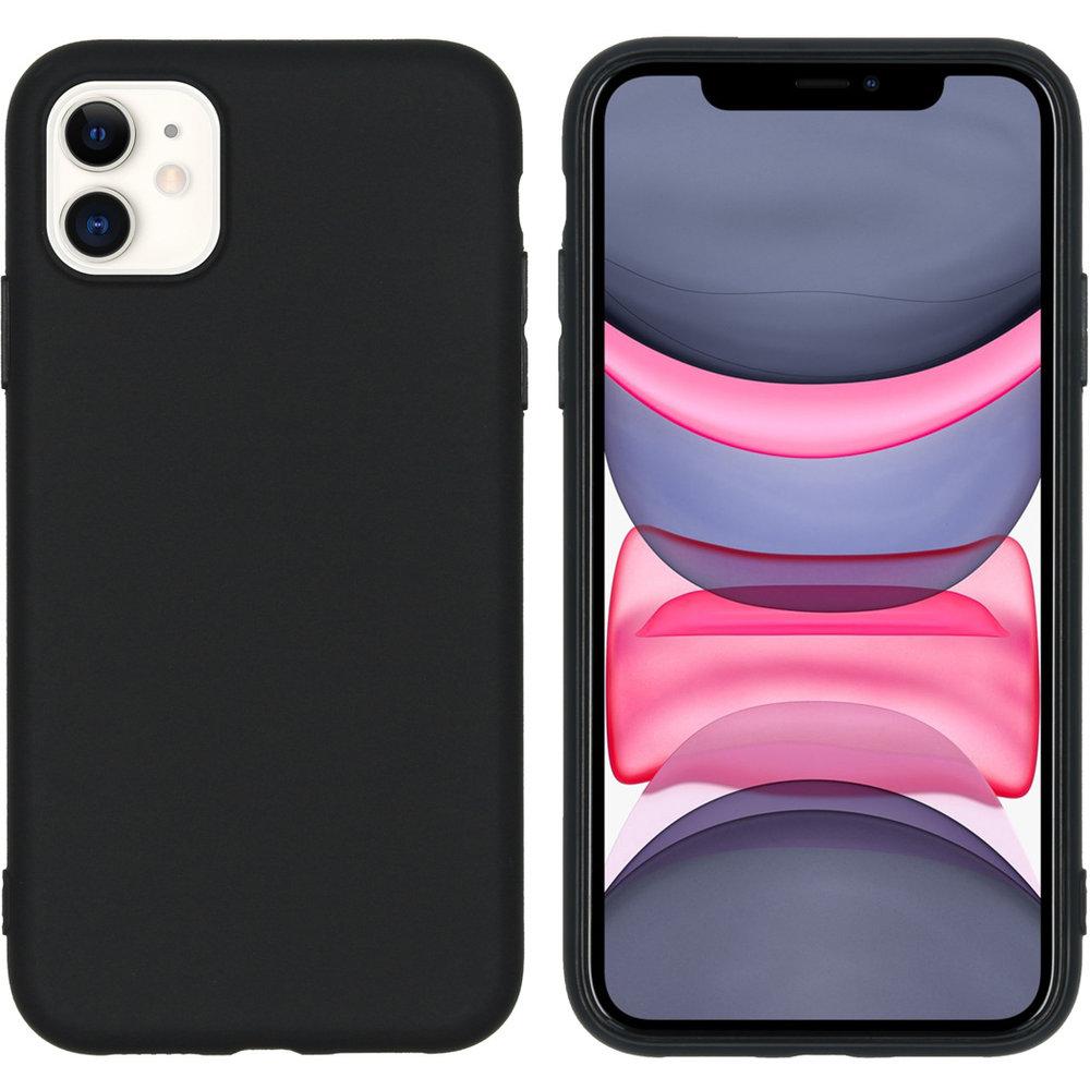 Coque Silicone Pour iPhone 11 Couleur Noir Haute Protection Little Boutik®