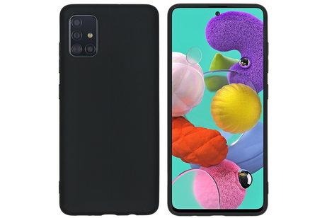 Coque Silicone Pour Samsung A21 Couleur Noir Haute Protection Little Boutik®