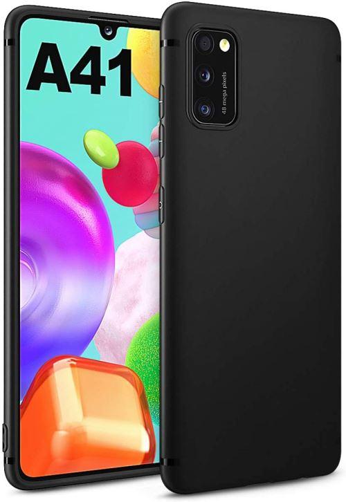 Coque Silicone Pour Samsung A41 Couleur Noir Haute Protection Little Boutik®