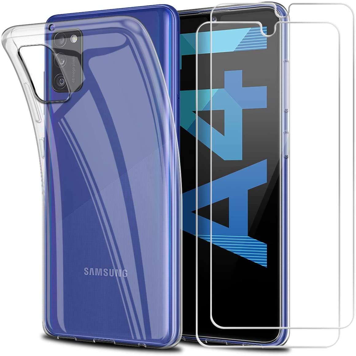 Coque Silicone  + 2 Vitres Protection Ecran Pour Samsung A41 Little Boutik®