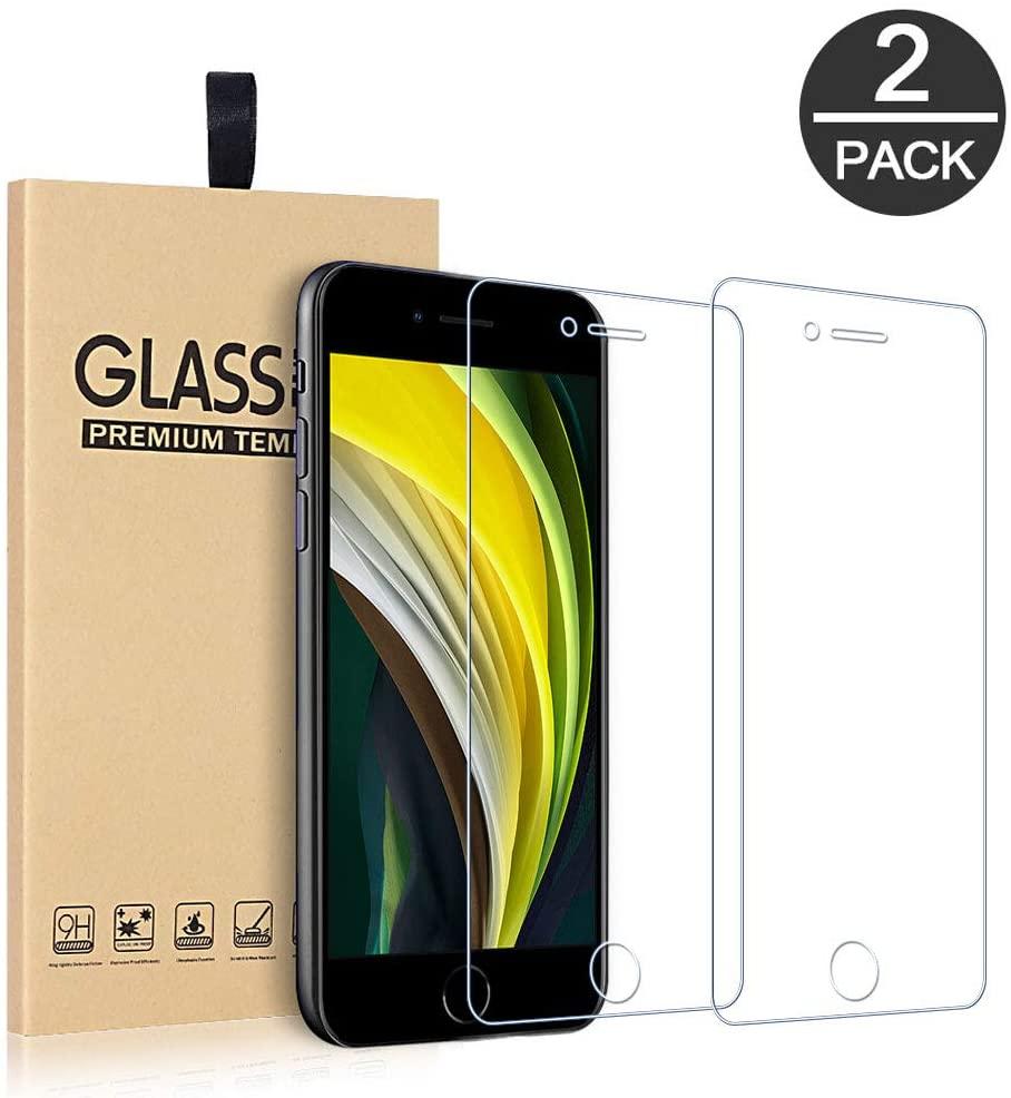 Pack X2 Vitres Protection Ecran Pour Apple iPhone SE 2020 Little Boutik®