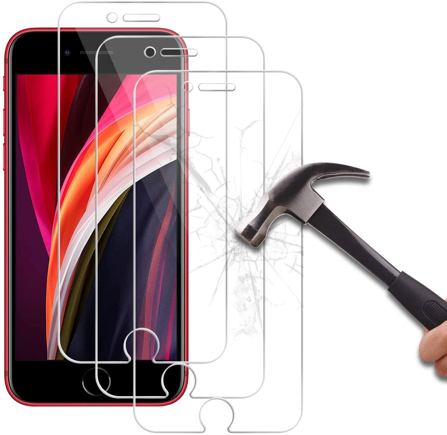 Pack X3 Vitres Protection Ecran Pour Apple iPhone SE 2020 Little Boutik®