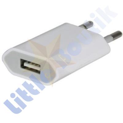 Chargeur Secteur Blanc pour Apple IPhone / IPad / IPod