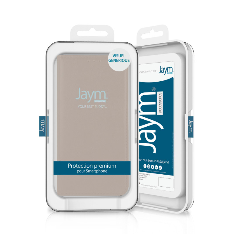 ETUI FOLIO STAND MAGNETIQUE OR COMPATIBLE SAMSUNG GALAXY A42 5G - JAYM®