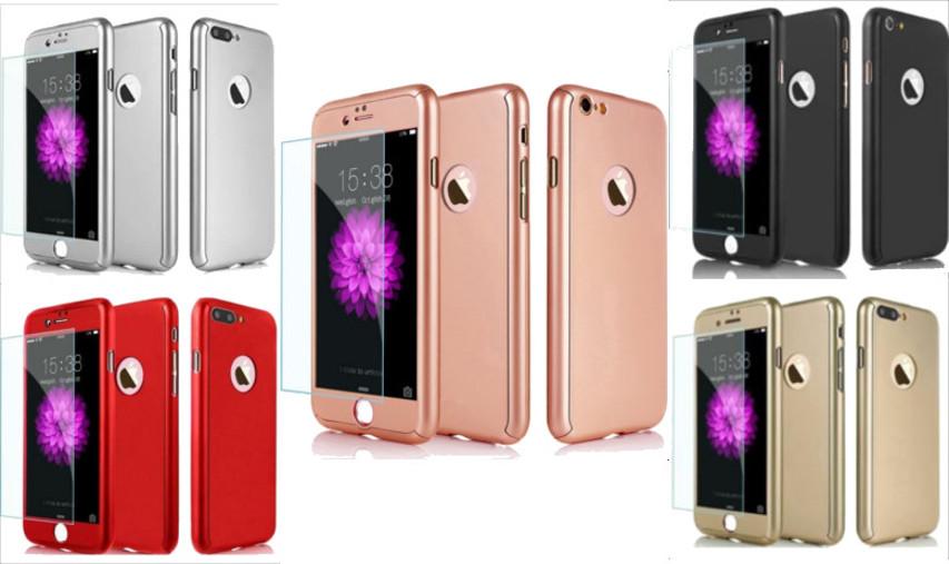 Coque Intégrale Pour iPhone 5/5S/SE  + Verre Trempé