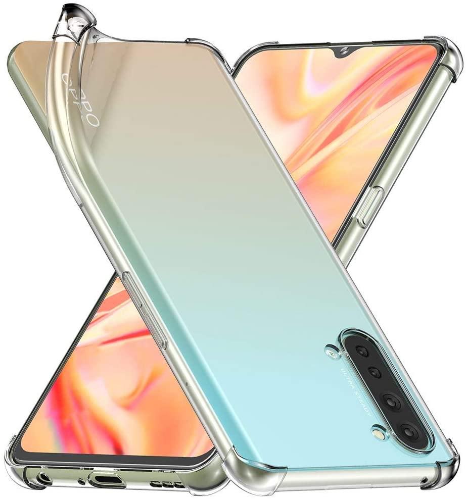 Coque Silicone TPU Transparente Angles Renforces Pour Oppo Find X2 Lite Little Boutik®