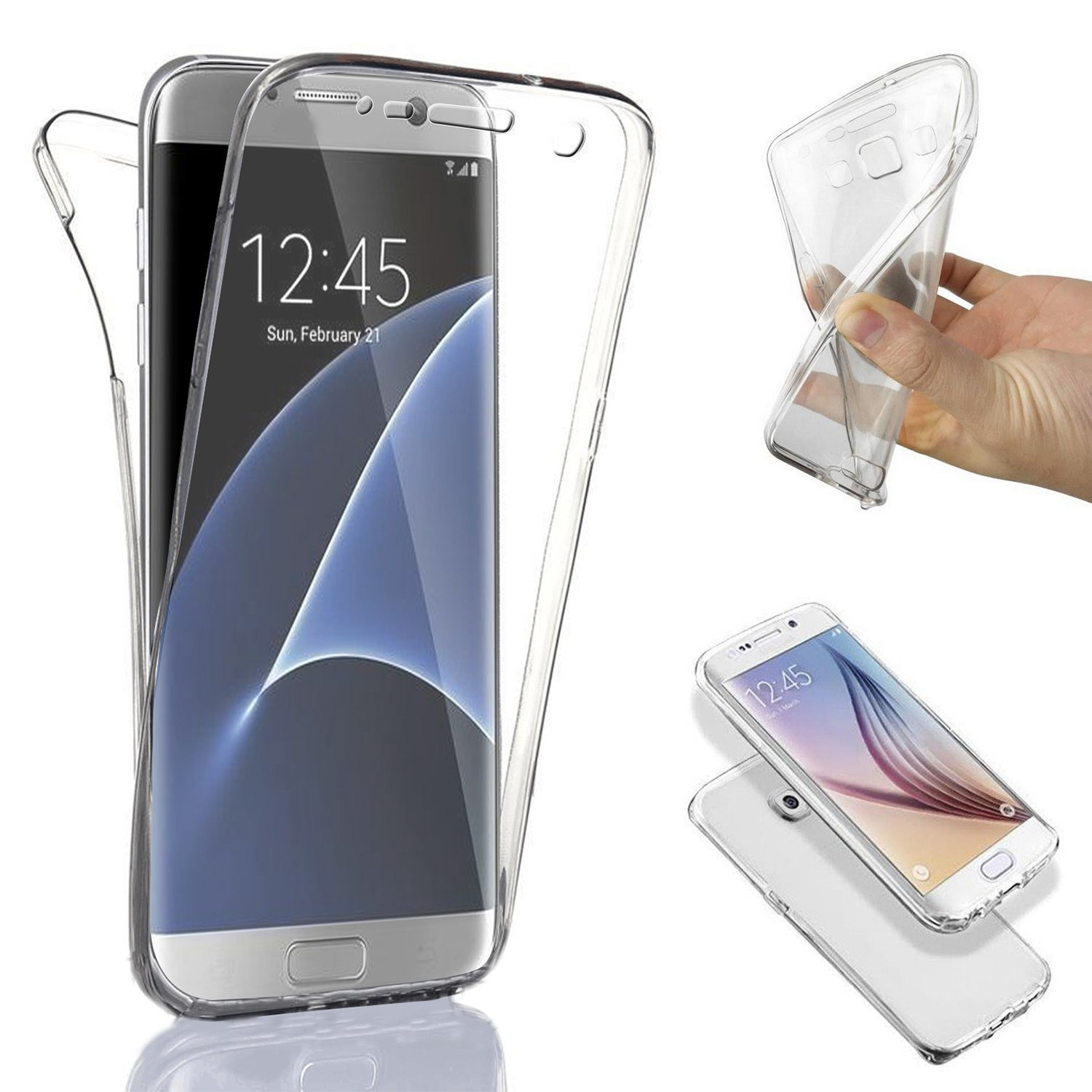coque silicone integrale galaxy s6 edge