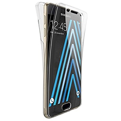 Coque Silicone Gel pour Samsung Galaxy A5 2017 Housse Etui Intégrale 360