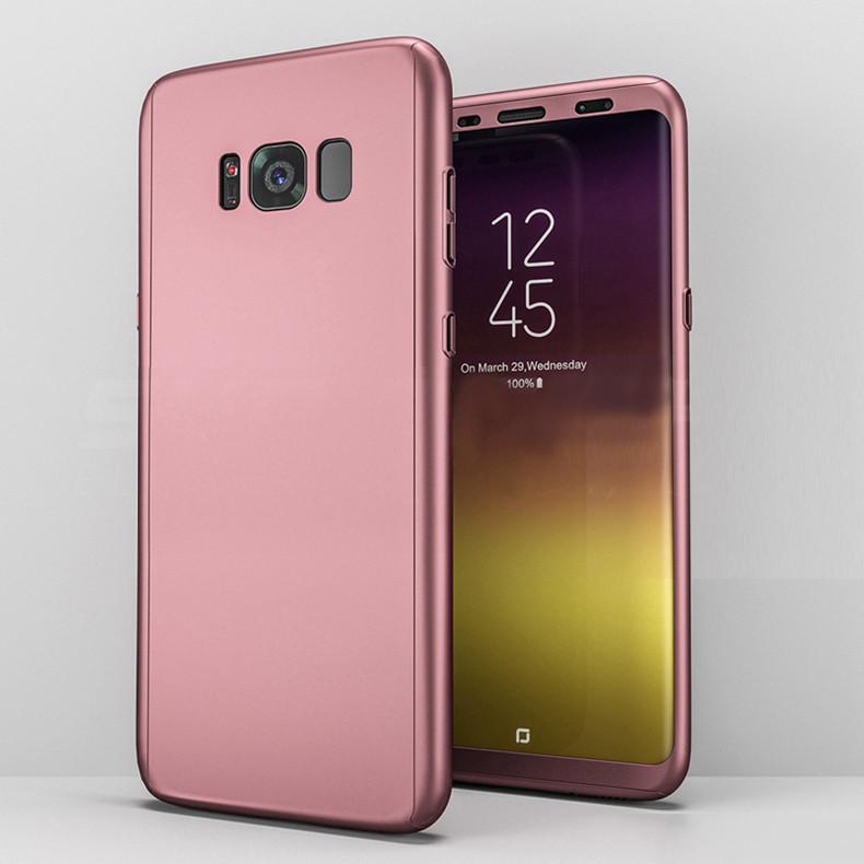 Coque Intégrale 360 Pour Samsung Note 8 Couleur Rose