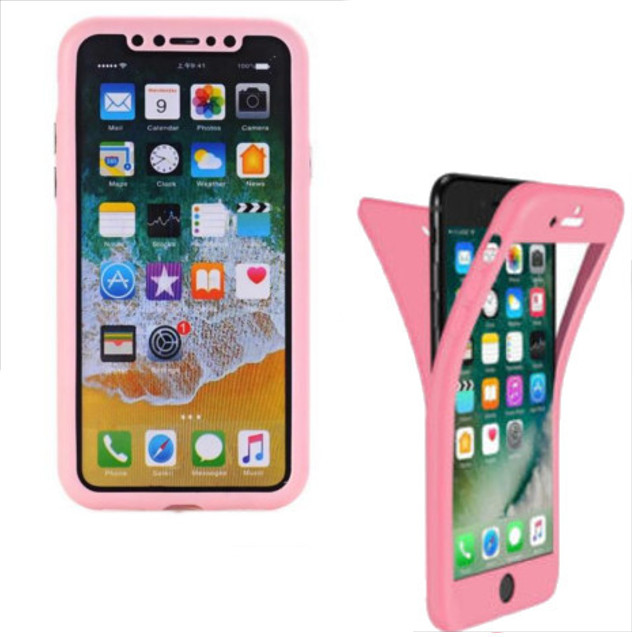 coque iphone 5 rose verre trempe
