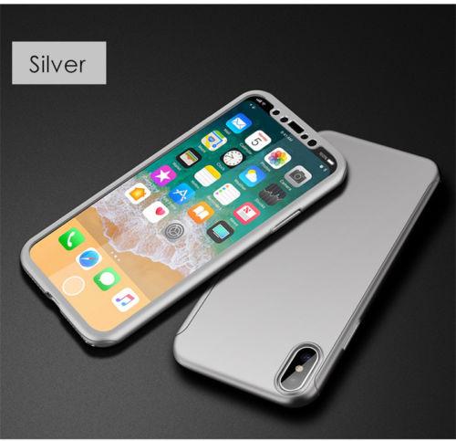 coque et verre trempe iphone x