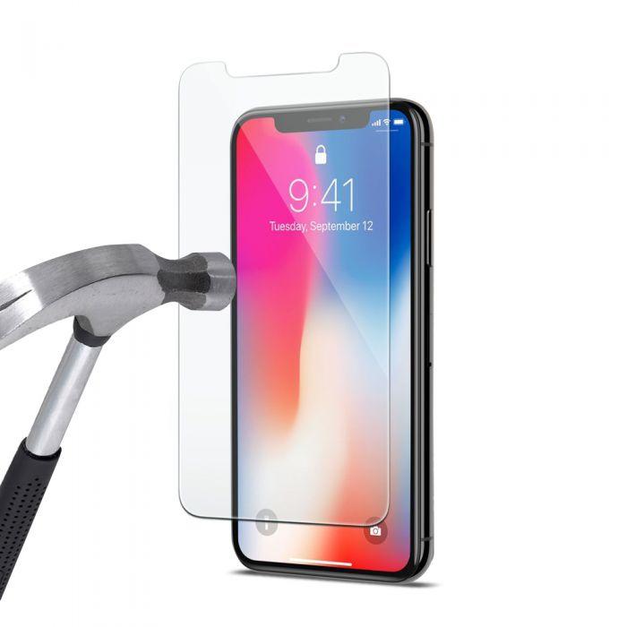 Protection écran pour iPhone X / iPhone 10, Verre Trempé Ultra Clair et Résistant Film Protecteur D\'écran en Verre Tempéré, Haute Transparence et Ultra Slim Dureté 9H