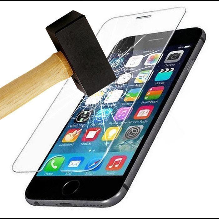 Protection écran pour iPhone 7 / 8, Verre Trempé Ultra Clair et Résistant Film Protecteur D\'écran en Verre Tempéré, Haute Transparence et Ultra Slim Dureté 9H